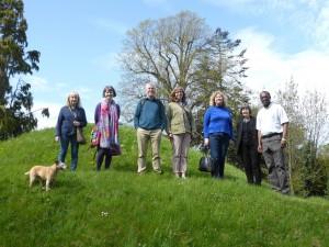 Members of SFLS with Rev Dr Liingstone.jpg Thompson at Kilwarlin
